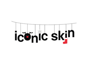 Happy holidays from iconic skin